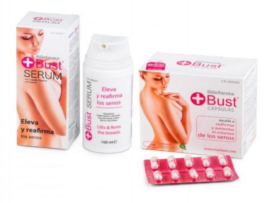 Cómo ganar más volumen en tus pechos con Hilefarma +Bust